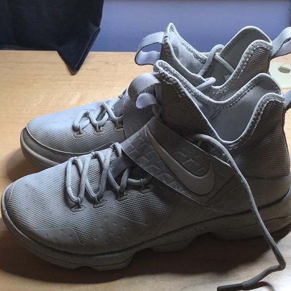 Nike Shoes   Lebron 4 Silver Reflect